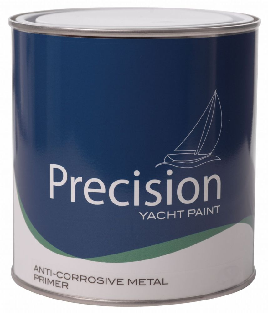 Precision Yacht and Boat Paint Anti-Corrosive METAL PRIMER Red